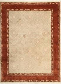 Tabriz Royal Magic Matto 174X233 Itämainen Käsinsolmittu Tummanbeige/Ruoste ( Intia)