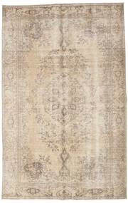 Colored Vintage Rug 173X280 Authentic  Modern Handknotted Light Brown/Beige (Wool, Turkey)