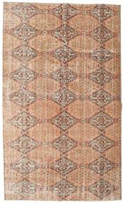 Colored Vintage Rug 165X275 Authentic  Modern Handknotted Light Brown/Light Pink (Wool, Turkey)
