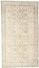 Colored Vintage Rug 176X304 Authentic  Modern Handknotted Beige/Light Brown (Wool, Turkey)
