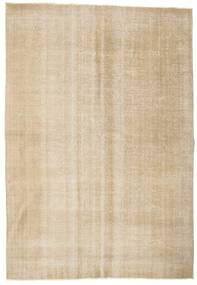 Colored Vintage Rug 203X295 Authentic  Modern Handknotted Light Brown/Beige (Wool, Turkey)