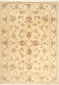 Yazd Matto 167X241 Itämainen Käsinsolmittu Beige/Vaaleanruskea (Villa, Persia/Iran)