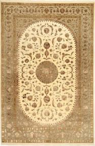 Tabriz Royal Magic Teppe 199X300 Ekte Orientalsk Håndknyttet Lysbrun/Brun ( India)