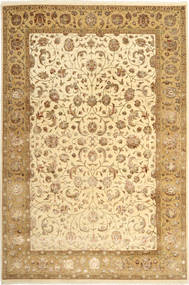 Tabriz Royal Magic Covor 200X300 Orientale Lucrat Manual Maro Deschis/Bej Închis ( India
