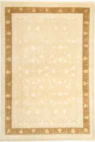 Tabriz Royal Magic Rug 200X298 Authentic  Oriental Handknotted Beige/Dark Beige ( India)
