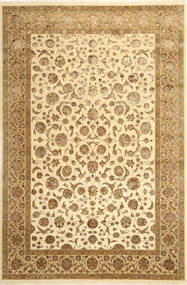 Tabriz Royal Magic Alfombra 200X297 Oriental Hecha A Mano Marrón Claro/Marrón/Beige ( India)