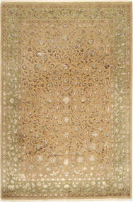 Tabriz Royal Magic Alfombra 200X304 Oriental Hecha A Mano Marrón Claro ( India)