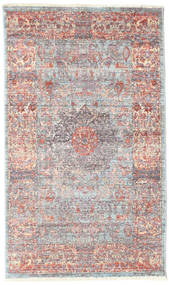 Mira - Dark Rug 80X140 Modern Light Grey/Light Pink ( Turkey)
