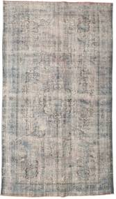 Colored Vintage Rug 172X292 Authentic  Modern Handknotted Light Grey/Dark Grey (Wool, Turkey)