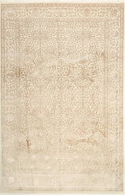 Tabriz Royal Magic Alfombra 200X306 Oriental Hecha A Mano Marrón Claro/Beige ( India)