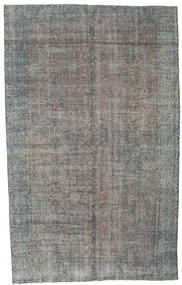 Colored Vintage Rug 177X290 Authentic  Modern Handknotted Dark Grey/Light Grey (Wool, Turkey)