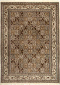 Bakhtiari Indo Rug 249X340 Authentic  Oriental Handknotted Light Brown/Brown (Wool, India)