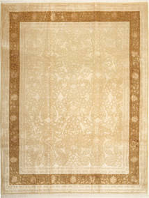 Tabriz Royal Magic Teppe 236X302 Ekte Orientalsk Håndknyttet Mørk Beige/Lysbrun ( India)