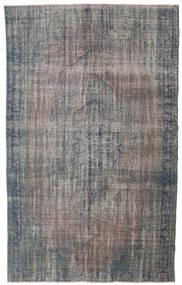 カラード ヴィンテージ 絨毯 170X278 モダン 手織り 濃いグレー/薄い灰色 (ウール, トルコ)