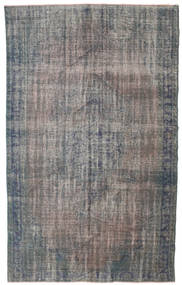 Colored Vintage Rug 170X278 Authentic  Modern Handknotted Dark Grey/Light Grey (Wool, Turkey)