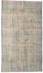 Colored Vintage Rug 175X301 Authentic  Modern Handknotted Light Brown/Light Grey (Wool, Turkey)