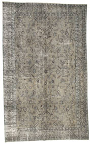 Colored Vintage Rug 195X316 Authentic  Modern Handknotted Light Grey/Dark Grey (Wool, Turkey)
