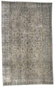 Colored Vintage Rug 195X316 Authentic  Modern Handknotted Light Grey/Dark Grey (Wool, Turkey)