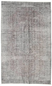 Colored Vintage Rug 161X266 Authentic  Modern Handknotted Light Grey/Dark Grey (Wool, Turkey)