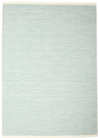 Seaby - Синий Ковер 250X350 Современный Сотканный Вручную Темно-Бирюзовый/Белый/Кремовый Большой (Шерсть, Индия)