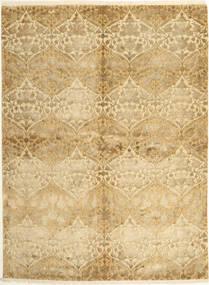 Tabriz Royal Magic Matto 174X235 Itämainen Käsinsolmittu Vaaleanruskea/Tummanbeige ( Intia)