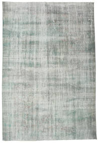 Colored Vintage Rug 182X273 Authentic  Modern Handknotted Light Green/Turquoise Blue (Wool, Turkey)