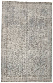 Colored Vintage Rug 167X263 Authentic  Modern Handknotted Light Grey (Wool, Turkey)