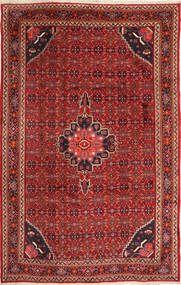 Bidjar Rug 204X320 Authentic  Oriental Handknotted Dark Red/Brown (Wool, Persia/Iran)