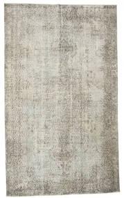 カラード ヴィンテージ 絨毯 166X278 モダン 手織り 薄い灰色/暗めのベージュ色の (ウール, トルコ)