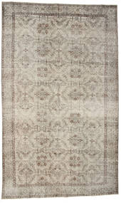 Colored Vintage Rug 180X297 Authentic  Modern Handknotted Light Brown/Light Grey (Wool, Turkey)