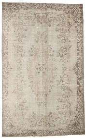 Colored Vintage Rug 185X294 Authentic  Modern Handknotted Light Grey (Wool, Turkey)