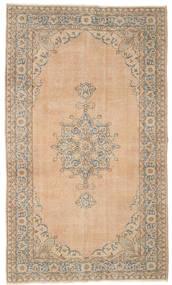 カラード ヴィンテージ 絨毯 150X258 モダン 手織り 薄茶色/ライトピンク (ウール, トルコ)