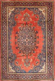 Wiss Teppe 217X330 Ekte Orientalsk Håndknyttet Brun/Mørk Lilla (Ull, Persia/Iran)