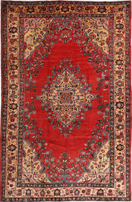 Bakhtiari Rug 205X320 Authentic  Oriental Handknotted Rust Red/Brown (Wool, Persia/Iran)