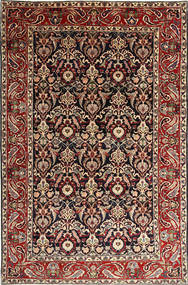 Bakhtiari Rug 238X364 Authentic  Oriental Handknotted Dark Red/Light Brown (Wool, Persia/Iran)