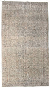 Colored Vintage Rug 163X294 Authentic  Modern Handknotted Light Brown/Light Grey (Wool, Turkey)