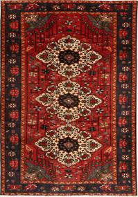 Bakhtiari Rug 210X308 Authentic  Oriental Handknotted Dark Brown/Dark Red (Wool, Persia/Iran)