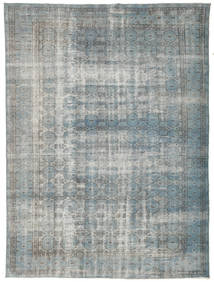 Colored Vintage Rug 195X257 Authentic  Modern Handknotted Light Grey/Dark Grey (Wool, Turkey)