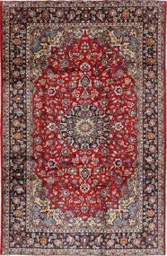 Najafabad Tæppe 220X337 Ægte Orientalsk Håndknyttet Mørkelilla/Brun (Uld, Persien/Iran)