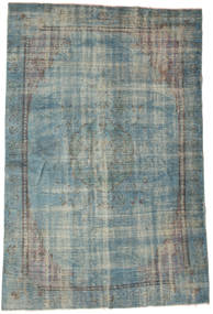 Colored Vintage Rug 180X268 Authentic  Modern Handknotted Light Grey/Dark Grey (Wool, Turkey)