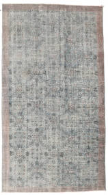 Colored Vintage Rug 158X288 Authentic  Modern Handknotted Light Grey/Dark Grey (Wool, Turkey)