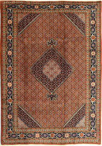 Ardebil Rug 200X290 Authentic  Oriental Handknotted Dark Red/Light Brown (Wool, Persia/Iran)