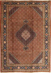 Ardebil Matta 200X290 Äkta Orientalisk Handknuten Mörkbrun/Röd (Ull, Persien/Iran)