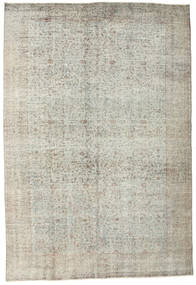 Colored Vintage Rug 195X287 Authentic  Modern Handknotted Light Grey (Wool, Turkey)