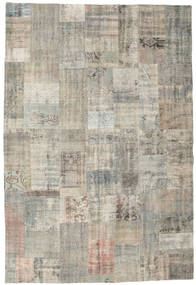 Patchwork Rug 203X298 Authentic  Modern Handknotted Light Grey (Wool, Turkey)