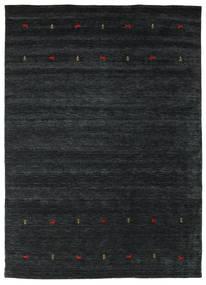 Gabbeh Loom Two Lines - Negru/Gri Covor 240X340 Modern Negru (Lână, India)