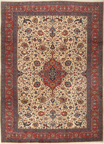 Sarouk Rug 255X355 Authentic  Oriental Handknotted Light Brown/Black Large (Wool, Persia/Iran)