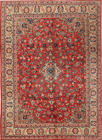 Mahal Rug 272X380 Authentic  Oriental Handknotted Rust Red/Dark Red Large (Wool, Persia/Iran)