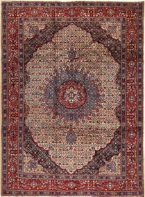 Moud Teppich 265X350 Echter Orientalischer Handgeknüpfter Braun/Dunkelgrau Großer (Wolle, Persien/Iran)