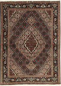 Tabriz 40 Raj Rug 107X149 Authentic Oriental Handknotted Dark Brown/Light Brown (Wool/Silk, Persia/Iran)